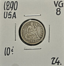 1890 United States 10 cents