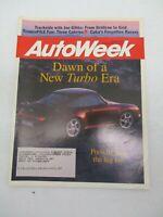 AUTO WEEK MAGAZINE ARPIL 24, 1995 PORSCHE 911 TURBO GEO METRO LSI SEDAN CAR