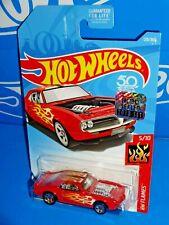 Hot Wheels 2018 Factory Set HW Flames #128 Custom '67 Pontiac Firebird Red