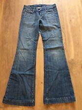 Ciudadanos de la humanidad Blue Jeans Faye Stretch #003 Cintura Baja Pierna Completa de Tamaño 25