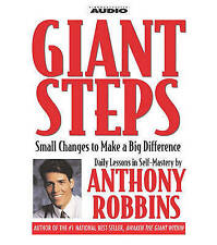 NEW Giant Steps: Small Changes to Make a Big Difference by Tony Robbins
