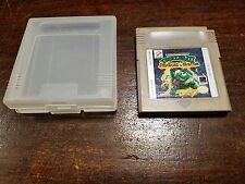 Teenage Mutant Ninja Turtles III 3: Radical Rescue Video Game Game Boy GB Tested