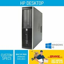 HP Elite 8300 SFF INTEL i3 - i7 2TB Windows 10 Desktop PC Computer