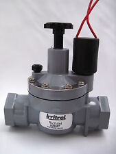 Irrigation Solenoid 25mm with flow control 205MT