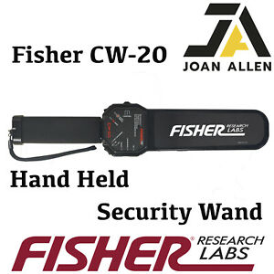 Fisher CW-20 Hand Held Security Scanner