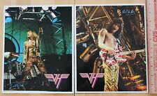 David Lee Roth rock /& roll moc Puffy Stickers Mint Sealed 1980/'s VAN HALEN
