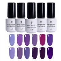 5ml Born Pretty Lila Serie Nail Art UV Gel Nagellack Soak Off Gel Polish