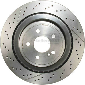 One New Brembo Disc Brake Rotor Rear 09A82211 for Mercedes MB