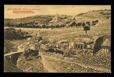JERUSALEM Palestine Israel Valley of Jehosaphat vintage PPC