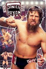 WWE WRESTLING POSTER ~ DANIEL BRYAN CRUSH 24x36 Raw No Yes Fear Beard