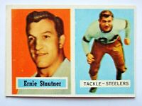 Ernie Stautner #92 Topps 1957 Football Card (Pittsburgh Steelers) VG