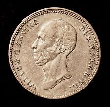 Kgr. Niederlande, Wilhelm II., 25 Cents 1848
