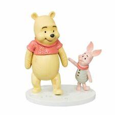 Disney Christopher Robin Resin Figurine - Winnie the Pooh & Piglet