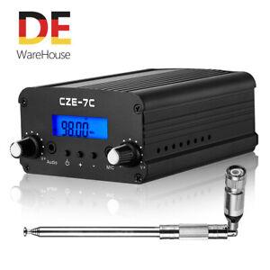 1/7W 76-108 MHz FM-Sender für Church Dual Mode Transmitter Stereo Radio Station