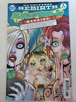 HARLEY QUINN #8 (2017) DC REBIRTH COMICS AMANDA CONNER COVER ART! 1ST PRINT NM