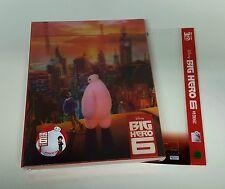 Disney BIG HERO 6 [2D + 3D] Blu-ray STEELBOOK [NOVAMEDIA] LENT. [KOREA] #198/600