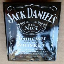 JACK DANIELS Tür- Emailschild USA Lynchburg MAKELLOS Whiskey Old No.7 Brand KULT