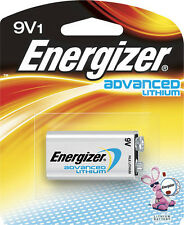 Energizer - Advanced Lithium 9V Battery - Silver 1 pc.