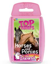 TOP TRUMPS HORSES AND PONIES AND UNICORNS CARD GAME BRAND NEW