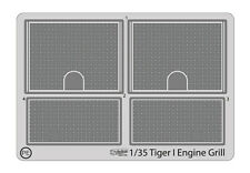 1/35 Tiger-I Engine grill PE set