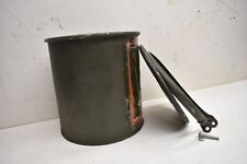 VINTAGE - MS24347-28 Mirax Reusable Military Shipping Drum/Container/Barrel
