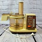 Vintage Sears Counter Craft 7 Speed Food Processor  TESTED WORKS photo