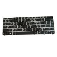 Replacement Laptop Keyboard for HP EliteBook 840 G3 Keyboard Silver Frame