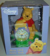 DISNEY Winnie the Pooh Alarm Clock Coin Money Bank