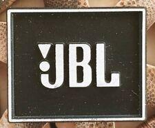 JBL aluminium Logo Emblem Etichetta ORIGINALE
