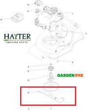 Genuine New-Hayter Harrier 41 374 A 375 A 376 A Lama di taglio 111-8567 1456