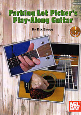 GUITAR PARKING LOT PICKERS PLAYALONG Music Book & Backing Tracks CD Bluegrass