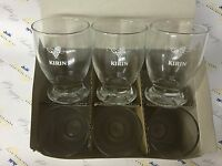 Japanese Brand Kirin small wine glass Collectible 6 set boxed Japan Limited F/S