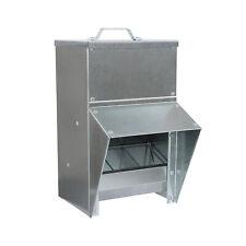 Rural365 Galvanized Chicken Feeder Weatherproof Coop Dispenser 11.5lbs