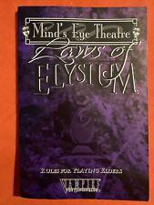 Las leyes de la mente Elysium (' s Eye Theatre) White Wolf World of Darkness