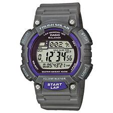 Casio Uhr Digitaluhr STL-S100H-8AVEF Tough Solar Grau Lila Auslaufmodell -20%