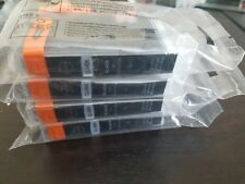 Canon CLI-8BK Black Ink Cartridges, lot of 4