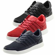 New Mens Crosshatch Sneakers Designer webbing Trainers Boots Light Weight Shoes