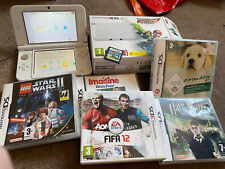 NINTENDO 3DS XL CONSOLE BUNDLE - Boxed With Games