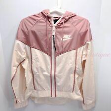 NWT Nike BQ4715-838 Women's Sportswear Windrunner Jacket Guava Ice Pink Size S