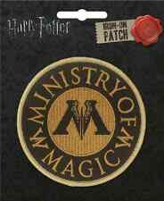 Harry Potter Iron On Patch: Ministry of Magic Logo