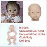 """DIY Blonde Curly Paste Wig Hair Kits Fits for 28/"""" Reborn Toddlers Dolls"""
