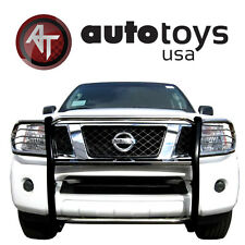 ATU Stainless Grill Brush Guard Push Crash Bar  [ 2005-2017 Nissan Frontier ]