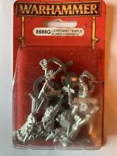 Warhammer Fantasy Lizardman Temple Guard Command 8585G