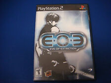 PlayStation 2, EOE: Eve of Extinction, 2002 Rated T-Teen