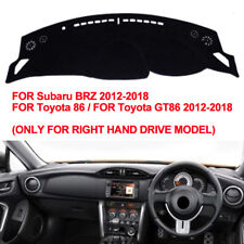Right Hand Drive's Car Dashboard Cover For Toyota 86 GT86  Subaru Brz 2012-2018