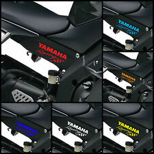 2x YAMAHA RACING Decals Body Panel Stickers Graphics YZF YZ-F R1 R6 Bikes -120mm