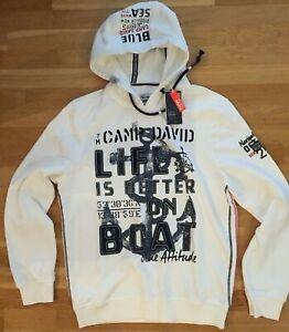 Camp David Herren Kapuzensweatshirt Sweatshirt Hoodie Neu Gr.L
