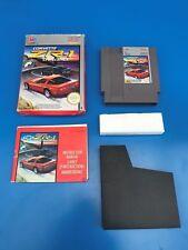 CORVETTE ZR-1 CHALLENGE - Jeu complet en boite NES - Nintendo NES  PAL B FRA