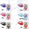 Pet Collar Dog Cat Puppy Neckerchief Adjustable Scarf Bandana Style Small Size