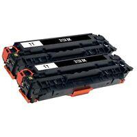 2 x Black Toner Cartridge for HP 312X 312A CF380X CF380A LaserJet Pro MFP M476nw